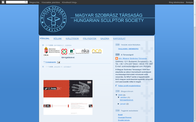 The Society of Hungarian Sculptors